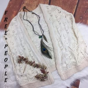 Free People~Oversized Chunky Knit Sweater Vest XS